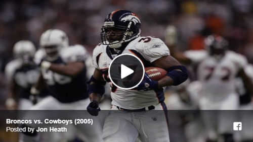 TBT: Broncos beat Cowboys 24-21 on Thanksgiving Day in 2005