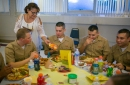 St. Margaret Mary Church in Algonquin hosts sailors for Thanksgiving feast