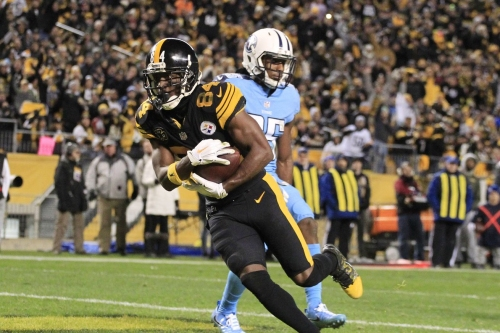 Antonio Brown named AFC Offensive Player of the Week for Week 11