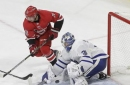 Van Riemsdyk and Leafs beat his brother and Hurricanes 5-4 (Nov 24, 2017)