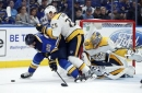 Johansen scores, Rinne stays hot, Predators blank Blues 2-0 (Nov 24, 2017)