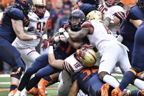 Final score: Boston College 42, Syracuse 14