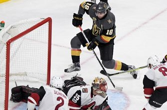 In 3rd meeting, Coyotes seek 1st win over division-leading Golden Knights