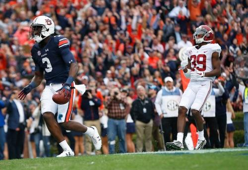 Auburn shuts down No. 1 Alabama, heads to SEC title game