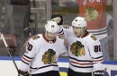 Toews, Crawford help Blackhawks beat Panthers 4-1 (Nov 25, 2017)