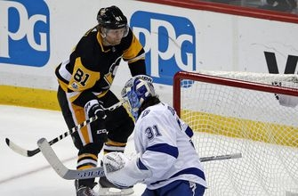 Crosby, Kessel carry Penguins past Lightning, 5-2 (Nov 25, 2017)