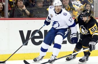 Lightning can't contain Sidney Crosby, Phil Kessel in road loss to Penguins