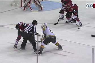HIGHLIGHTS: Coyotes can't climb out of 3-goal deficit