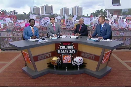 College GameDay heading to Charlotte for Miami-Clemson