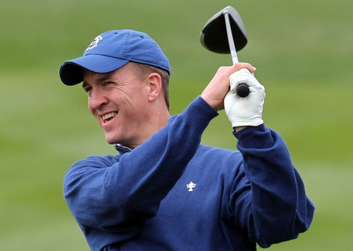 Peyton Manning hit a hole-in-one at Colorado golf course