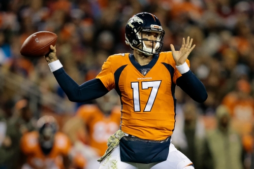 Brock Osweiler among Broncos' inactives against Raiders
