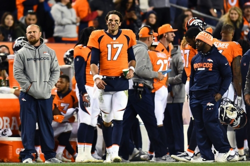 Denver Broncos and Oakland Raiders inactives: Brock Osweiler goes from starter to the inactive list