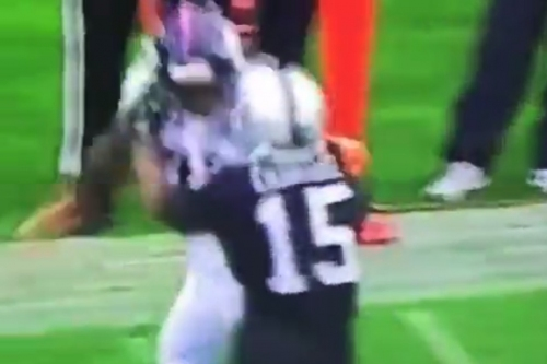 Watch Aqib Talib actually start fight with Michael Crabtree