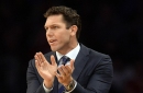 Luke Walton is happy with the progress the Lakers made during their long break