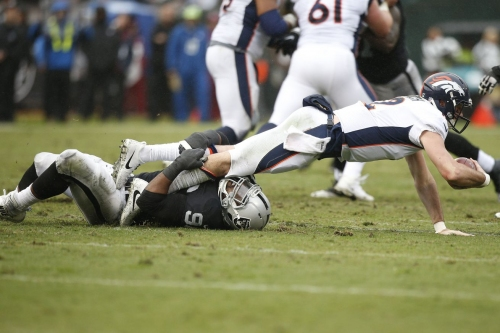 Instant reactions: Broncos fall deeper into the abyss with loss against Raiders