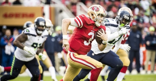 'Our fans are better than that': 49ers upset at home crowd, who might have cheered C.J. Beathard's injury