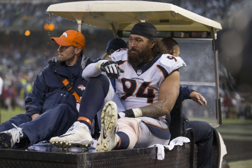 Derek Wolfe, Domata Peko among Broncos injured in Week 12