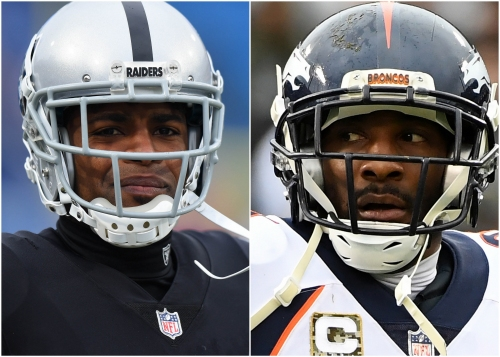 Aqib Talib and Michael Crabtree both suspended 2 games