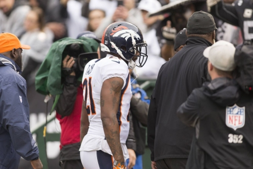 Aqib Talib suspended two games for fight with Michael Crabtree