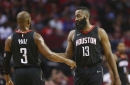 Harden, Rockets roll through depleted Nets, 117-103