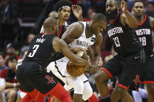 Rockets dump Nets for fifth straight win