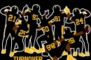 Be a part of the 'Turnover Squad' with the latest BTSC Steelers T-Shirt