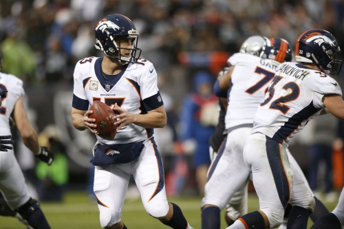 Trevor Siemian grades out better than Paxton Lynch according to Pro Football Focus