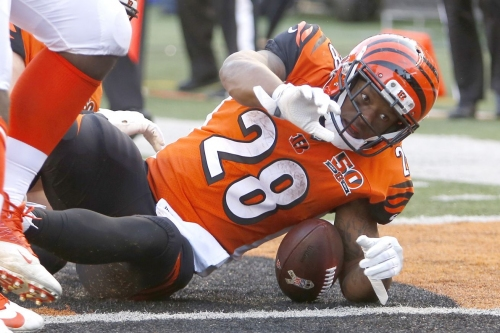 Joe Mixon nominated for NFL Ground Player of the Week