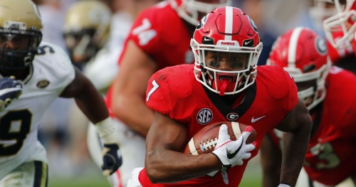 Georgia moves up to No. 6 in latest College Football Playoff rankings