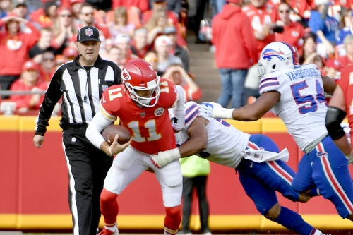 Buffalo Bills defenders discuss how they turned things around against Kansas City Chiefs