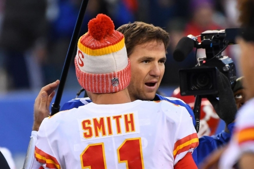 Chiefs and Giants QB situations have a couple of differences