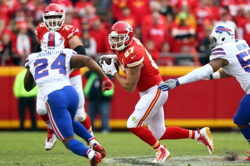 Travis Kelce is one of the most productive slot receivers in the NFL