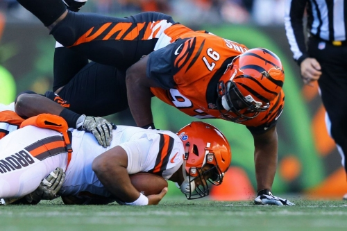 Bengals PFF report: Geno Atkins and Dre Kirkpatrick shine in win over Browns