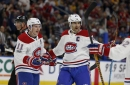 [Highlight] Max Pacioretty shoots the puck off Brendan Gallagher's stick and in
