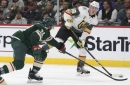 Staal's 3rd-period pair gives Wild 4-2 win vs. Knights (Nov 30, 2017)