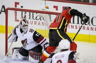 Smith shuts out former team, Flames beat Coyotes 3-0 (Nov 30, 2017)