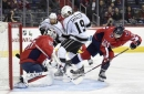 Kings score twice in 9 seconds and beat Capitals 5-2