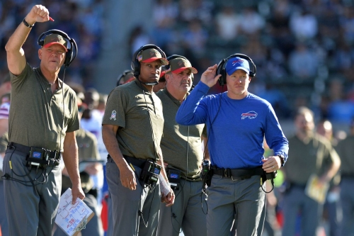 What are Buffalo's coaches saying about playing the Patriots?