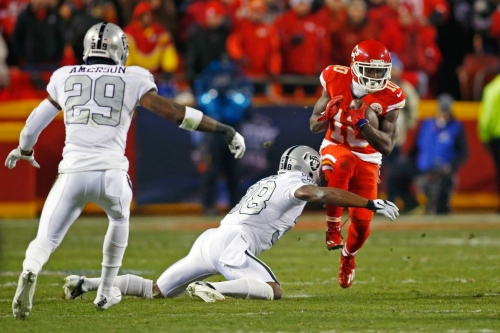 Chiefs special teams are trying to get one for Tyreek Hill