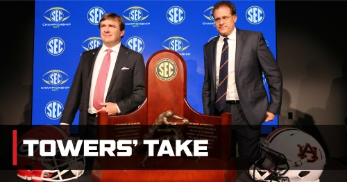 'Win-you're-in' stakes crank up magnitude of already-intense SEC Championship Game