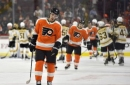 Bruins hand Flyers 10th straight loss with 3-0 win