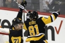 Crosby, Malkin help Penguins sink slumping Sabres, 5-1 (Dec 02, 2017)