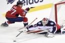 Capitals continue success vs. Bobrovsky, beat Blue Jackets
