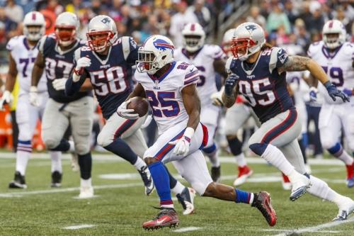 Buffalo Bills vs. New England Patriots, Week 13 inactives: LeSean McCoy ready to roll