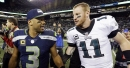 Russell Wilson outduels Carson Wentz in potential NFC playoff preview between Seahawks and Eagles
