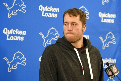 No line yet for Lions-Buccaneers with Matthew Stafford's status unclear