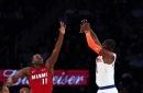 Knicks injury update: Kristaps Porzingis, Tim Hardaway Jr. will miss Monday's game at Indiana