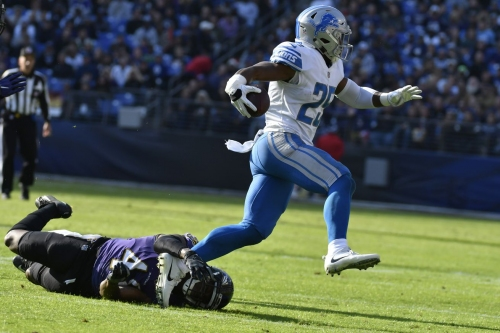 Fan fiction: Lions employ '11-men' strategy, beat Ravens handily