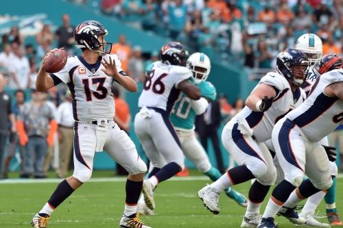 Report: Trevor Siemian will start at quarterback vs. the Jets