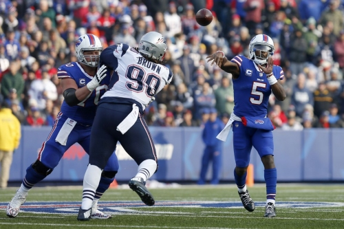 Tyrod Taylor remains starter for Bills when healthy